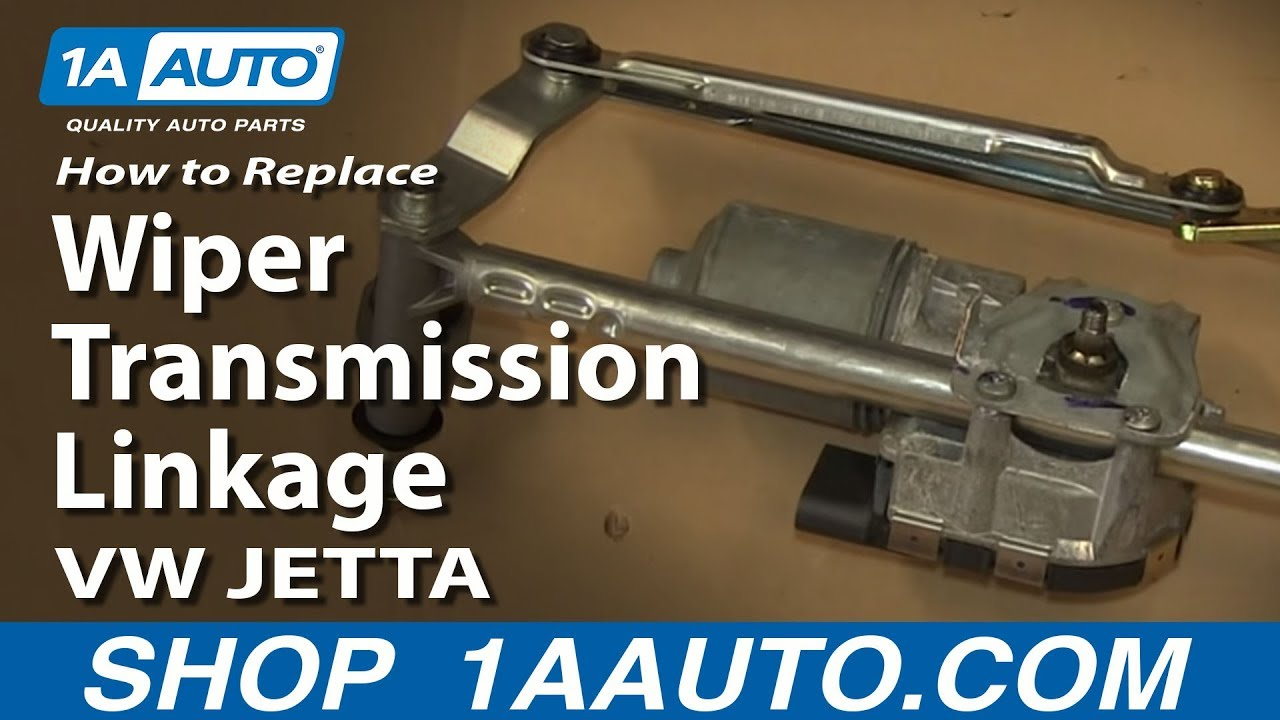 how to install fix windshield wiper transmission linkage volkswagen vw jetta golf gti [ 1280 x 720 Pixel ]