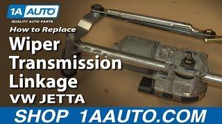 Hoe te Vervangen Ruitenwisser Transmissie Koppeling 05-13 Volkswagen Jetta