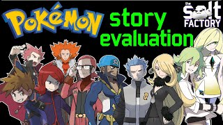 Evaluating the story of every major Pokemon game from generation 1-7