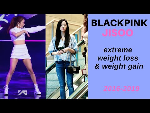 jisoo extreme weightloss and rebound