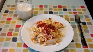 Texmex Migas Breakfast - Quemeanswhat.com