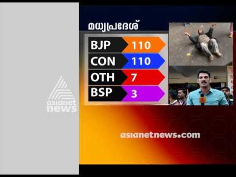 Close fight between BJP and Congress in Madhya Pradesh Election 2018