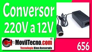 Conversor convertidor para neveras de 220 a 12 voltios en MovilTecno.com