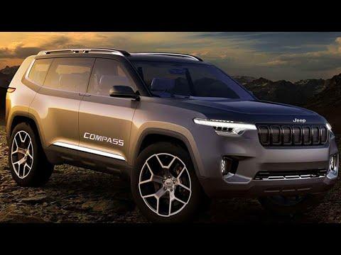 [New] Upcoming 2020 Jeep Compass V2.O Next Generation Premium SUV Interior Price Launch Date