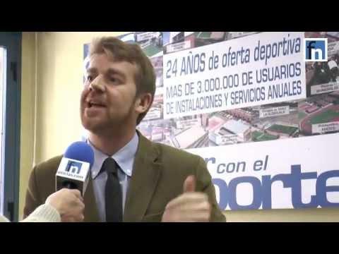Santiago Torres, concejal de deportes en Fuenlabrada