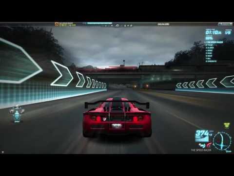 Need For Speed World Offline - McLaren F1 - Lion's Challenge