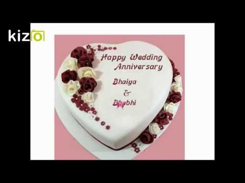 Happy anniversary bhaiya and bhabhi wishes whatsapp status video