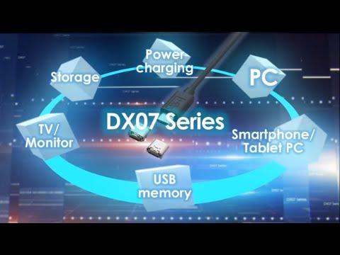 JAE USB Type-C Next Generation Standard Interface – DX07 Series