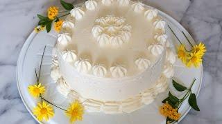 Torta De Limón O Pisco Sour / Lemon Cake