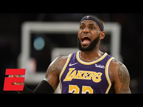LeBron James' near triple-double leads Lakers vs. Timberwolves | NBA Highlights