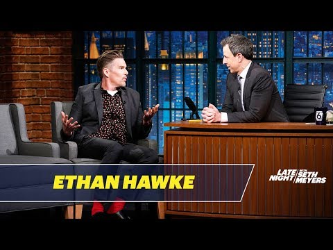 Ethan Hawke's Dad Calculated the Odds of Him Becoming a Successful Actor