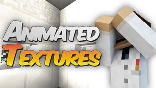 THE WALLS ARE MOVING! - Animated Textures in Minecraft 1.5 1.5.1