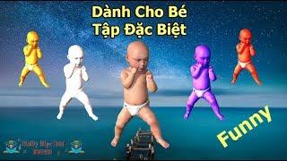Dành Cho Bé - Dance Trẻ Em - Vui Nhộn Hài Hước - Giúp Bé Ăn Ngon