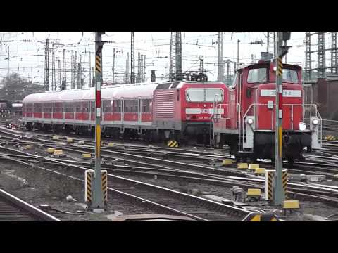 Trains at Frankfurt am Main Hauptbahnof - 22nd and 23rd February, 2014