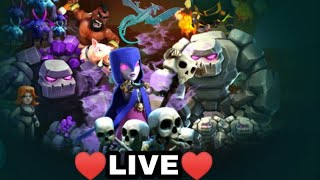 🔥 Hey buddies♥️ Morning♥️ It's time for Clash Of Clans Live♥️ Clan games and more🔥