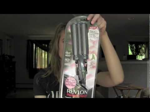First Impression: Revlon 3 Barrel Waver