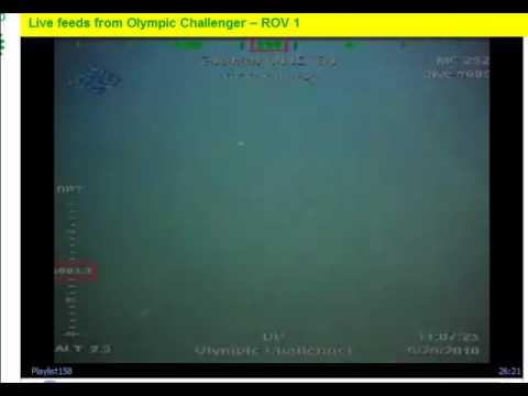 BP Subsea Oil Volcano Eruptions 9/29/10