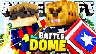 Minecraft Mini-Game: AVENGERS BATTLE DOME