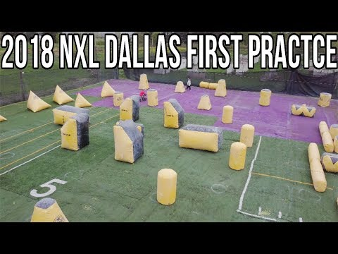 2018 NXL Dallas layout! (First practice!)