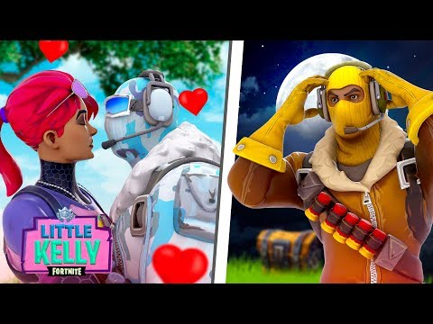 LITTLE KELLY AND FROSTBITE KISS! ...RAPTOR WANTS REVENGE - Fortnite Short Film