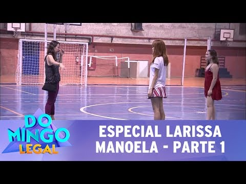 Domingo Legal (23/07/17) - Especial Larissa Manoela - Parte 1