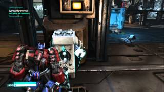 Transformers: Fall of Cybertron PC Gameplay *HD* 1080P Max Settings
