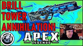 VISS DRILL TOWER ANNIHILATION! w/ REALKRAFTYY and TANNERSLAYS,APEX LEGENDS SEASON 4