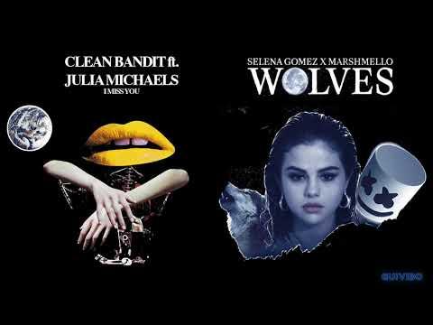 Wolves x I Miss You (Mashup) - Selena Gomez, Clean Bandit, Julia Michaels, Marshmello