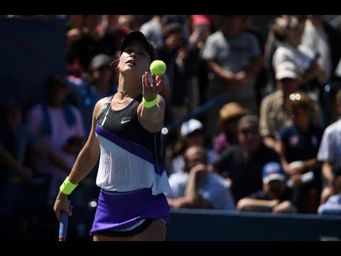 Eugenie Bouchard Vs. Anastasija Sevastova | US Open 2019 R1 Highlights