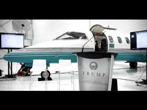 Trump Vancouver London Air Services & Rolls Royce Announcement