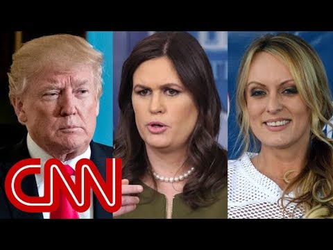 Trump upset with Sanders over Stormy Daniels response