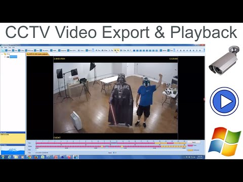 Video Surveillance File Export and Playback for iDVR CCTV DVRs
