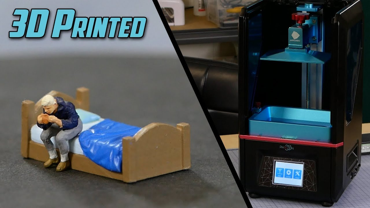 A Week with the Anycubic Photon resin 3D printer - johnbiehler com