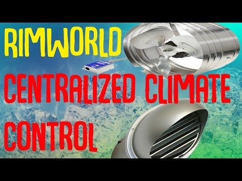 Centralized Climate Control! Rimworld Mod Showcase
