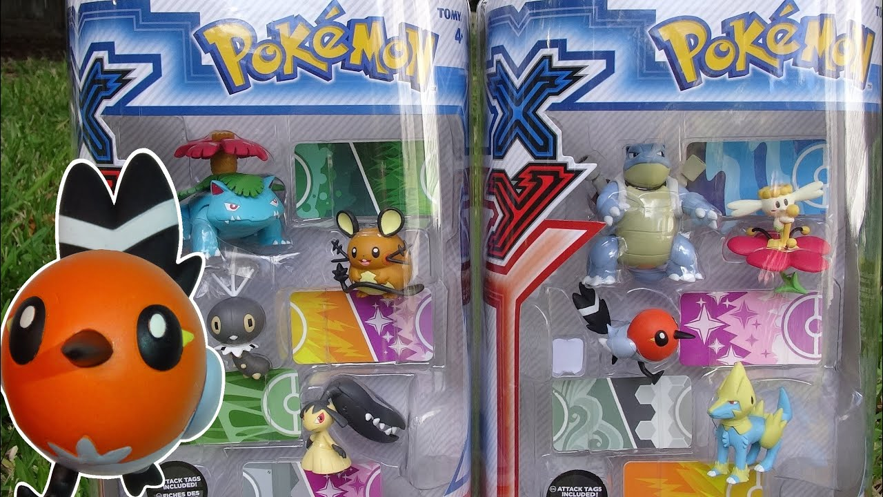 Opening: Pokemon X and Y Figure Gift Packs (Blastoise and ...