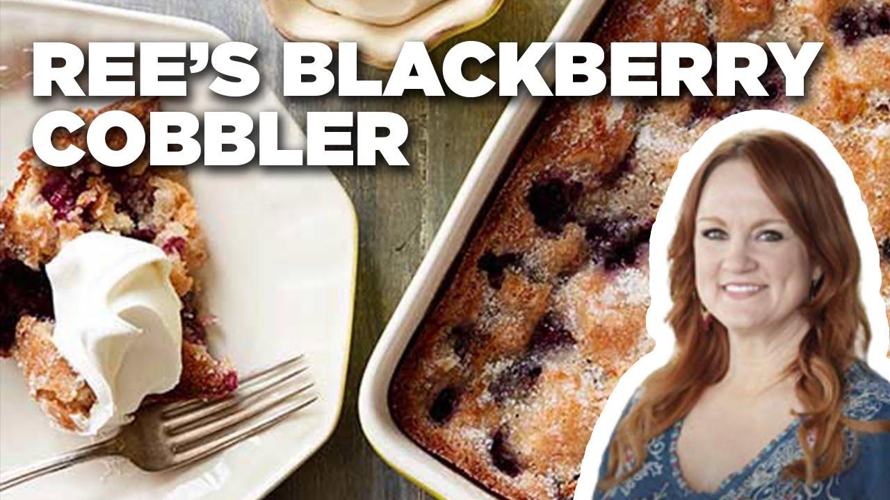 Download Blackberry Cobbler Recipe | The Pioneer Woman | Food Network