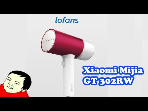 Портативный отпариватель Xiaomi Lofans GT 302RW обзор Review Mini Handheld Steamer #585