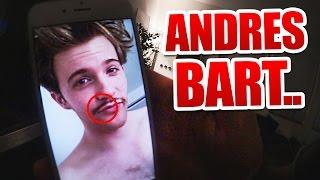 Andre rasiert Bart ab..