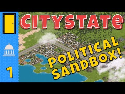 Citystate - Part 1: Political Leanings - Politics Simulator - Let's Play Citystate