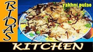 Yakhni Pulao | homemade restaurant-style tasty beef pulao recipe| beef yakhni pulao