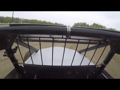 Bemidji Speedway Non Wing Sprint Cars 5/26/19 Helmet Cam