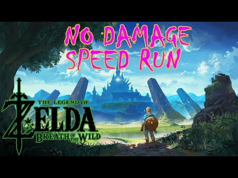 🔴 NO DAMAGE SPEED RUN (ALL DIVINE BEASTS) PT2 | ZELDA: BREATH OF THE WILD