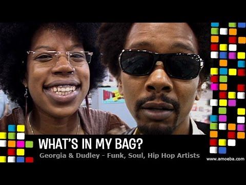 Georgia Anne Muldrow & Dudley Perkins - What's In My Bag?