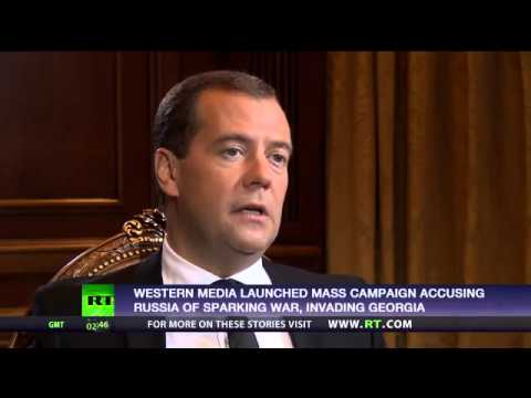 Medvedev  Russia's top priority in S Ossetia was to defend our citizens