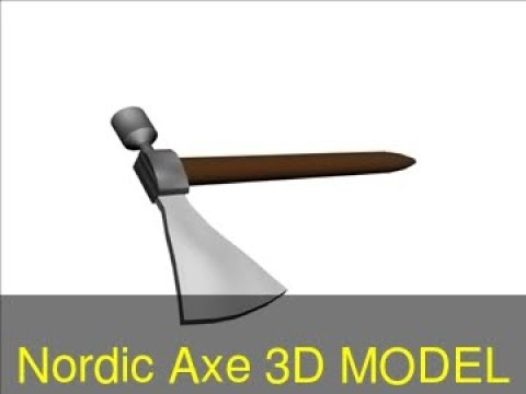3d-model-of-nordic-axe-review