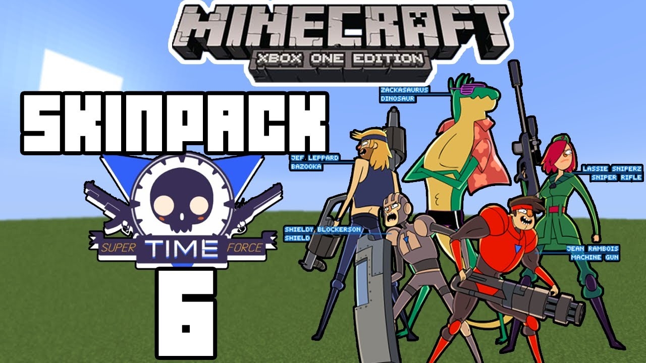 Minecraft (Xbox 360/One) - SKIN PACK 6 SKINS! - SUPER T.I ... Xbox One Skins Minecraft