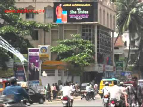 APOLLOMI India outdoor P10 led screen billboard