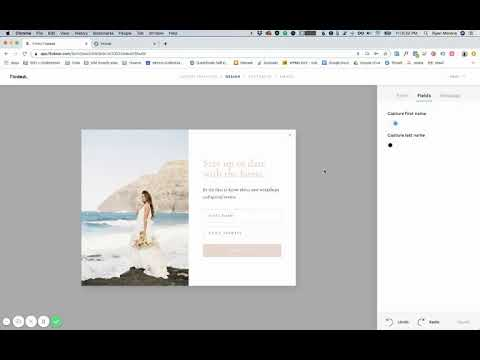 How to Embed a Flodesk Pop Up Form in Showit