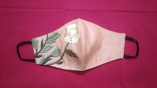 Easy Face Mask Sewing Tutorial How to make Face Mask Fabric Face Mask Making at Home