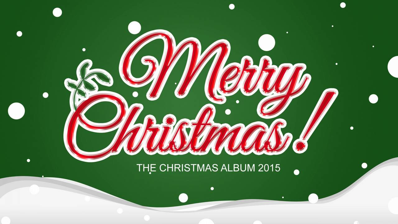 THE CHRISTMAS ALBUM 2015 - YouTube